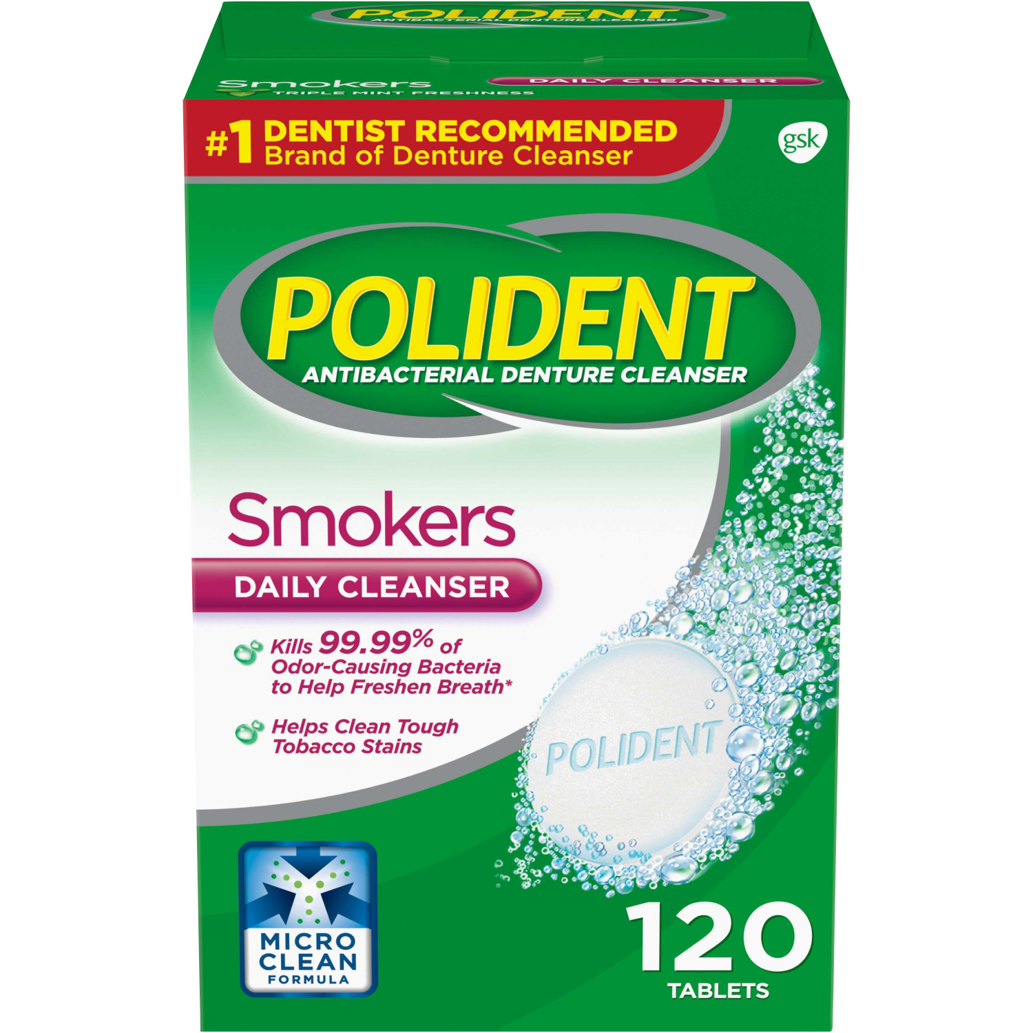 Best Denture Cleaners - Polident Smokers Denture Cleanser 120 ea Review