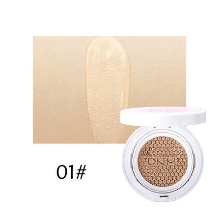 Natural Oil Control Cushion BB CC Cream Concealer Face Moisturizing Foundation