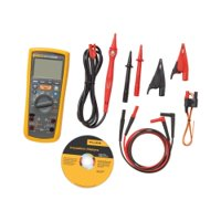 Fluke 1587 Insulation Multimeter, LCD Display, 2 Gigaohms Insulation Resistance, Up to 1000V Insulation Test Voltage