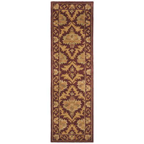 Charlton Home Dunbar Hand-Tufted Wool WineGold Area Rug
