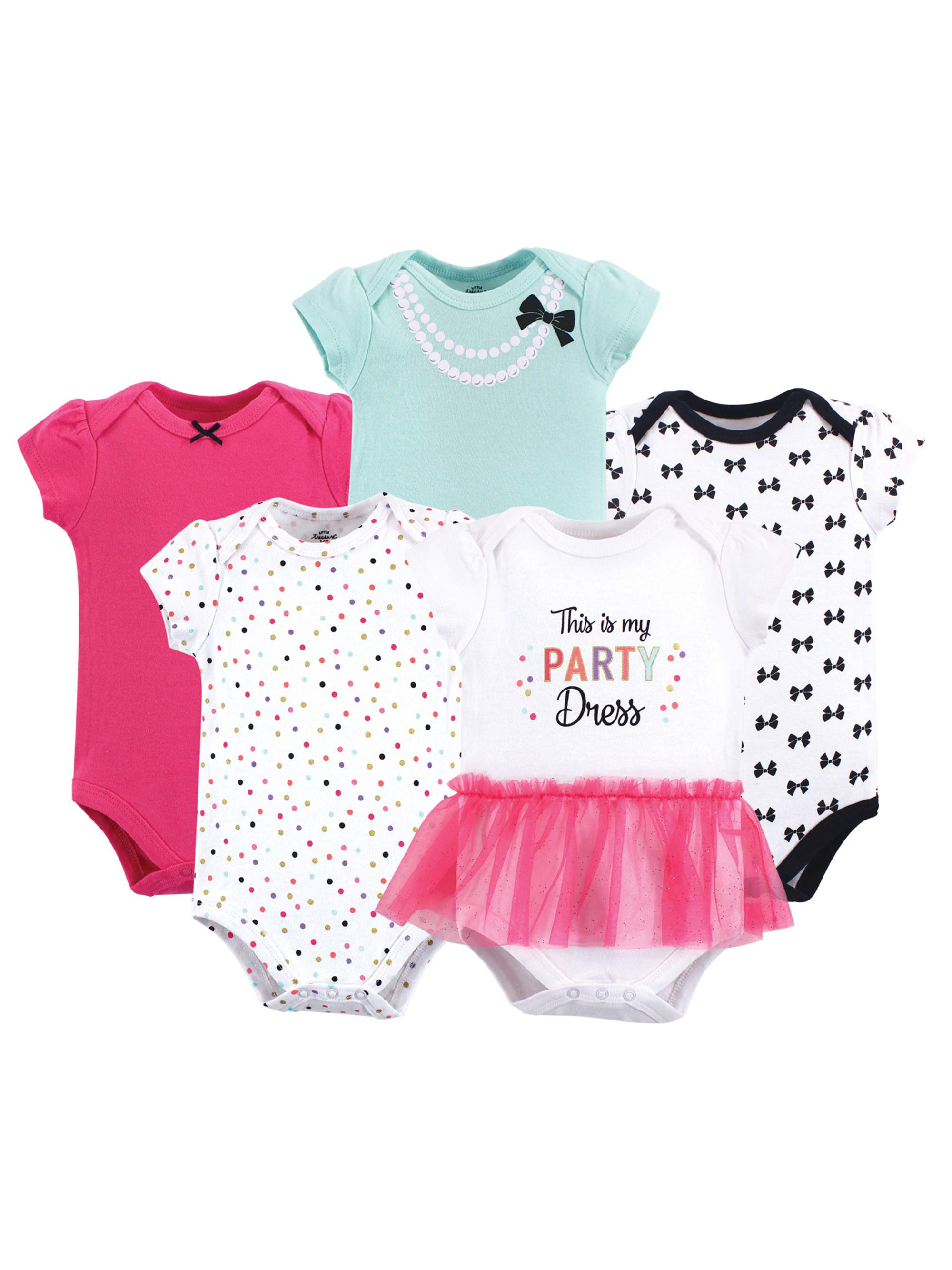 Bodysuits 5Pk (Baby Girls)