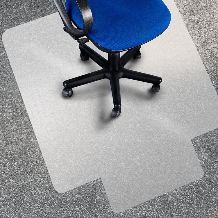 Perfect PVC Home Chair Floor Mat Studded Back With Lip For Standard Pile Carpet  Protecting Chair Pad
