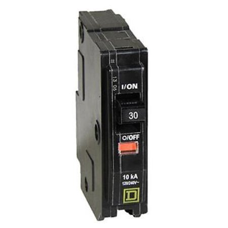 TV241125 Square D Square D QO 30A Single Pole Circuit Breaker 120V (30a Thermal Circuit Breaker)