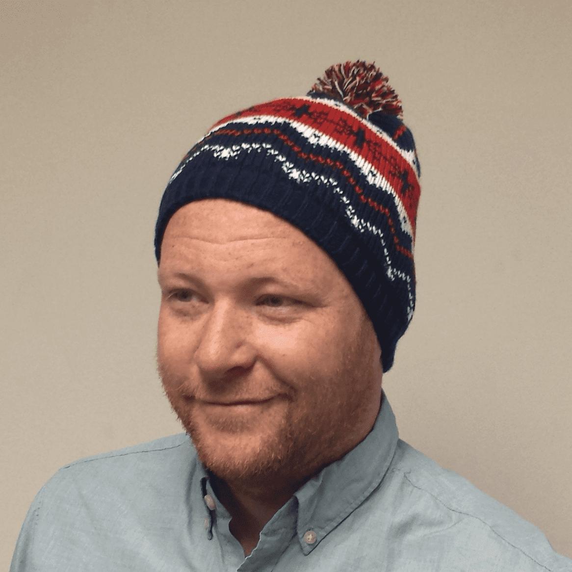 Kevin McCallister Home Alone 2 Knit Hat Beanie Macaulay Culkin Movie  Snowflakes - Walmart.com b9b3eea050a