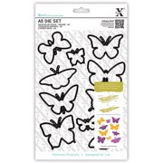 Do Crafts Xcut A5 Die Set, Butterflies
