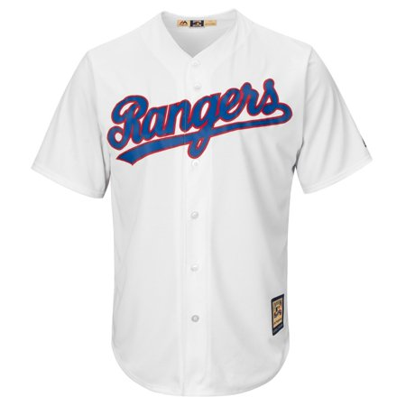 Nolan Ryan Texas Rangers Majestic Cooperstown Cool Base White Jersey by