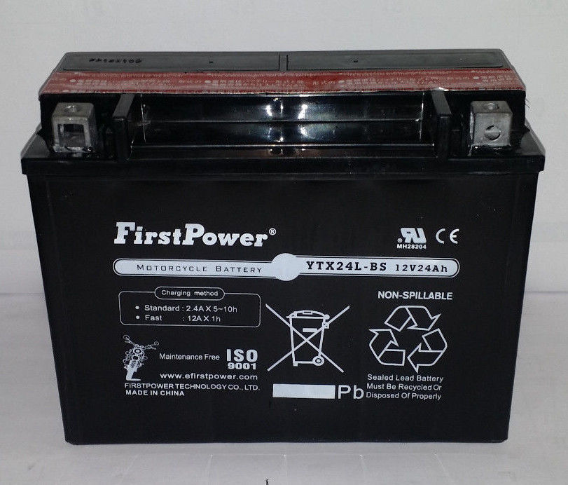 YTX24HL-BS for Bombardier Ski-Doo CK3 Types 1999-200 by Firstpower