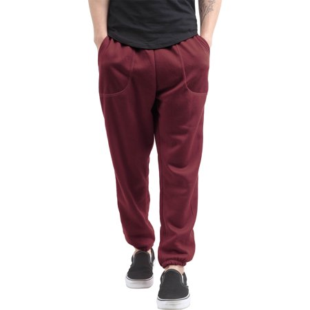 Men's Casual Elastic Bottom Sweatpants with Pockets ()