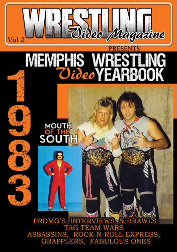 1983 Memphis Wrestling Video Yearbook Volume 1 (DVD) by Music Video Dist