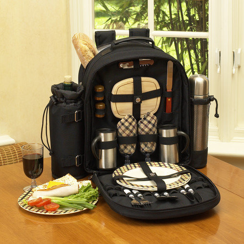 Picnic At Ascot London Coffee / Picnic Backpack for Two