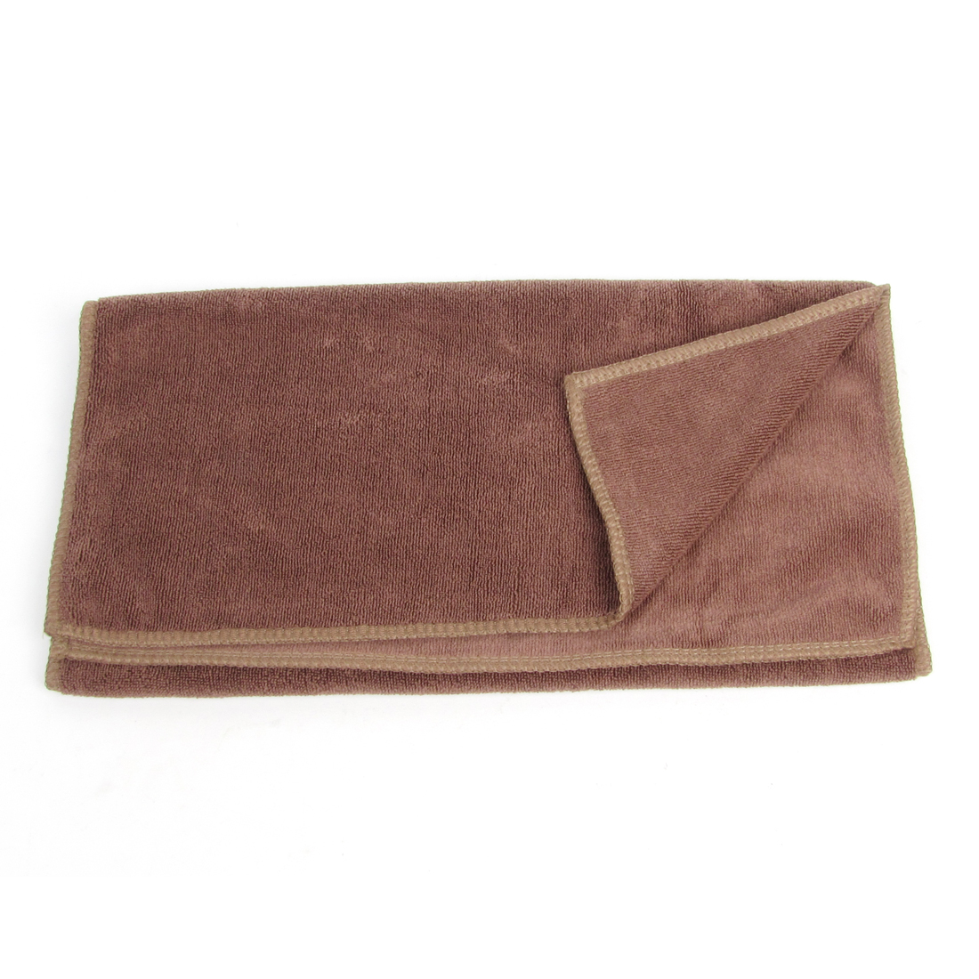 """Rectangle Brown 26"""" x 12.6"""" Microfiber Towel Car Cleaning Cloth - image 1 of 1"""