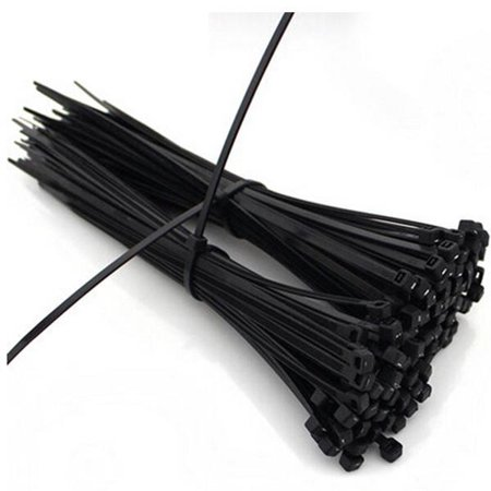 100pcs 12inch Nylon Plastic Zip Trim Wrap Cable Loop Ties Wire - Metal Detectable Cable Ties