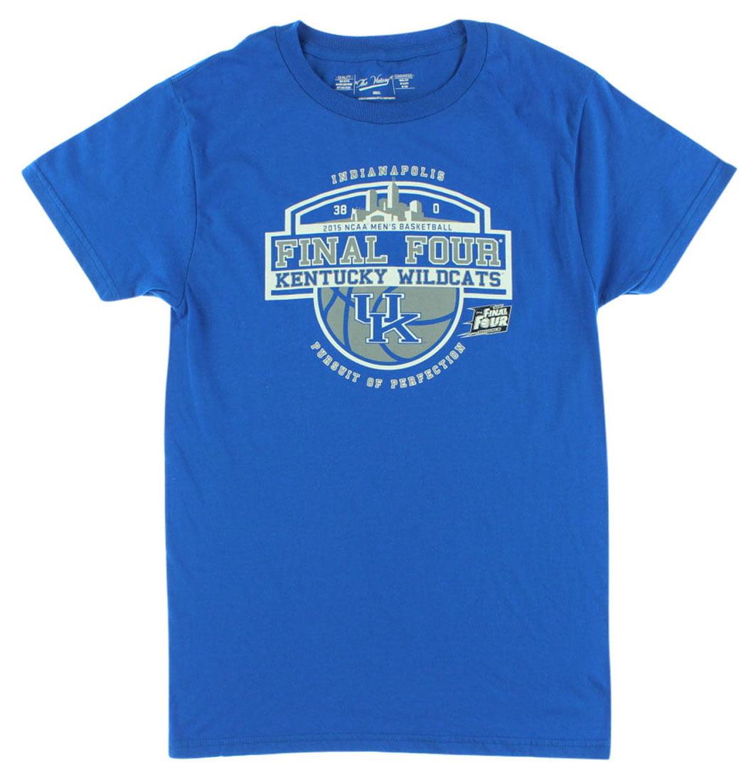 The Victory Mens Kentucky Wildcats Final Four 2015 T Shirt Royal Blue