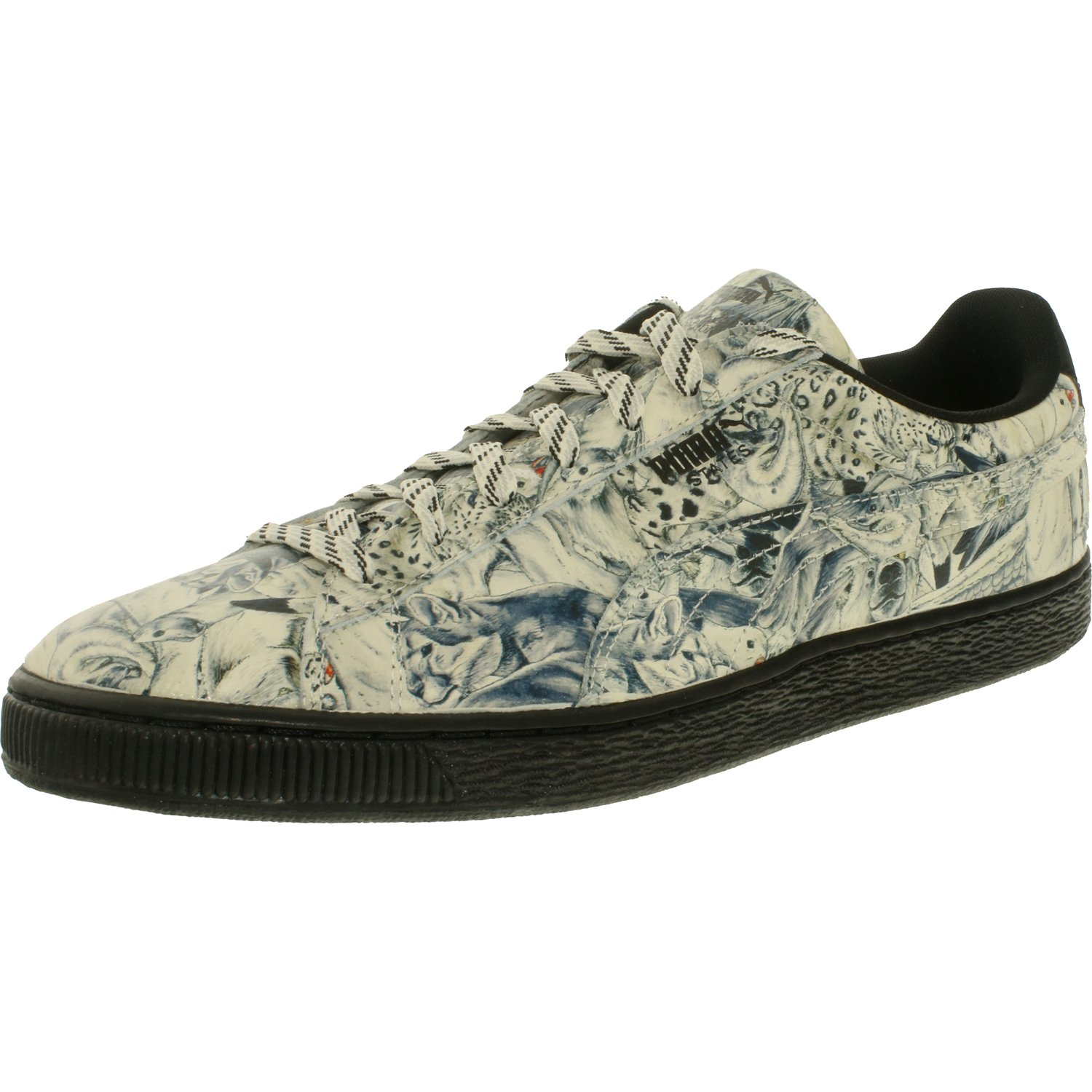 Puma States X Swash Wta Men  Round Toe Leather White Sneakers