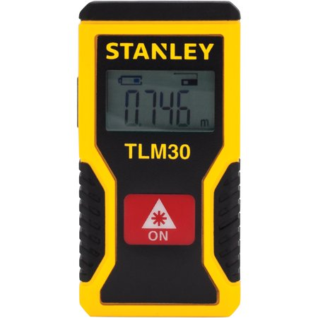 Stanley STHT77425W 30 Foot Pocket Laser Distance (Best Laser Tape Measure)