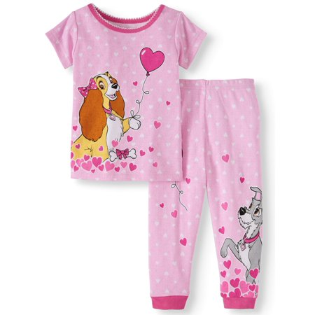 Lady & The Tramp Cotton tight fit pajamas, 2pc set (baby girls)](Christmas Pajamas Baby)