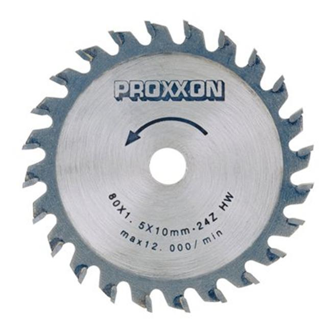 Prox Tech 28734 Carbide tipped saw blade for FKS-E-  3. 14 inch  - 80 mm- 24 teeth