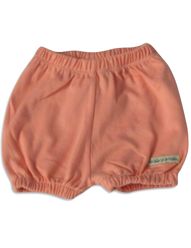 Mak the Yak - Baby Girls Shorts ivory cats / 12-18 Months