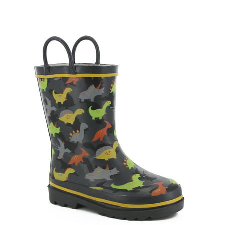 - Western Chief Boys' Dino Dash Rain Boot