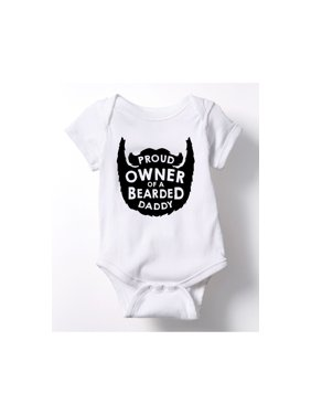 327451673 Product Image Proud Owner Bearded Daddy - Infant One Piece