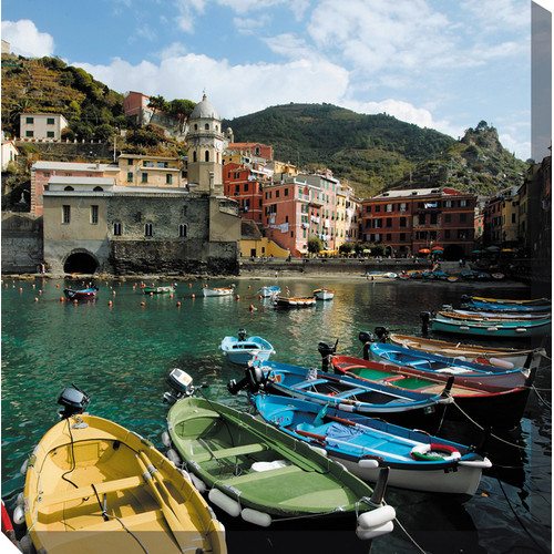 West of the Wind Cinque Terre Canvas Outdoor Art