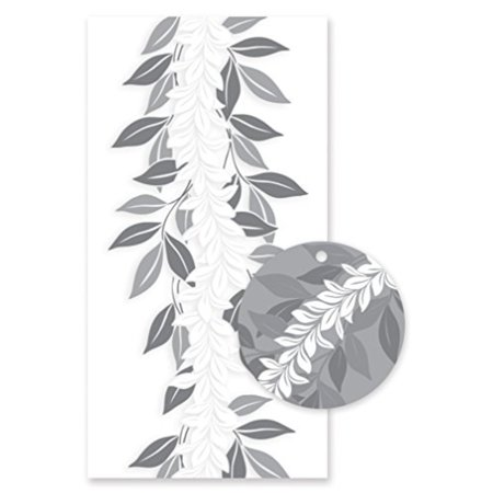 Hawaiian Candy Lei Kits 6 Pack Maile Silver (Maile Lei)