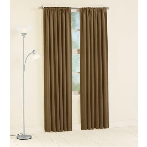 Mainstays Room Darkening Curtain Panel, Taupe