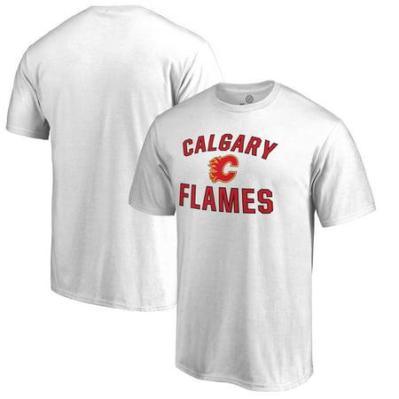 Calgary Flames Fanatics Branded Big & Tall Victory Arch T-Shirt - White](Big Four Calgary Halloween)
