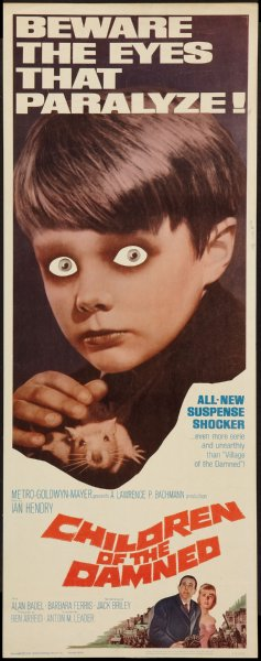 Children Of The Damned 14x36 Insert Movie Poster by