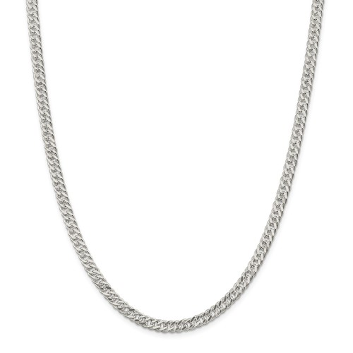 sterling 20in silver 5 5mm rambo necklace chain walmart