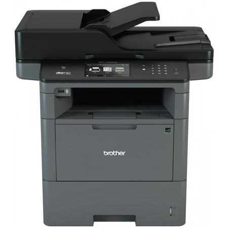 Brother Monochrome Laser Multifunction All-in-One Printer, MFC-L6800DW, Wireless Networking, Mobile Printing & Scanning, Duplex Print & Scan &