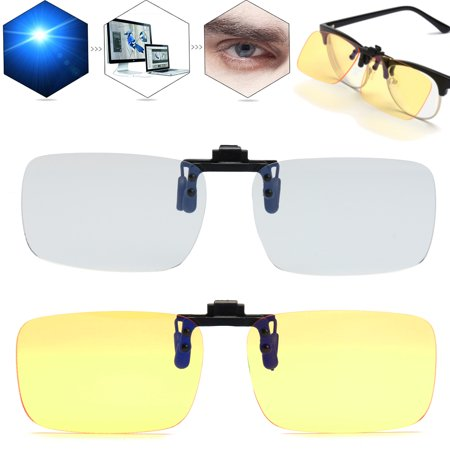 Anti Blue Ray Clip-on Clip Lens For Computer Phone Game TV Glasses Eyeglasses](Halloween Tv Clips)