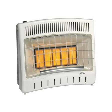 - Manual Control 27000 BTU Infrared Radiant LP Gas Vent Free Heater