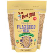 Bob's Red Mill, Organic Whole Ground Flaxseed Meal, 32 oz (pack of 1)