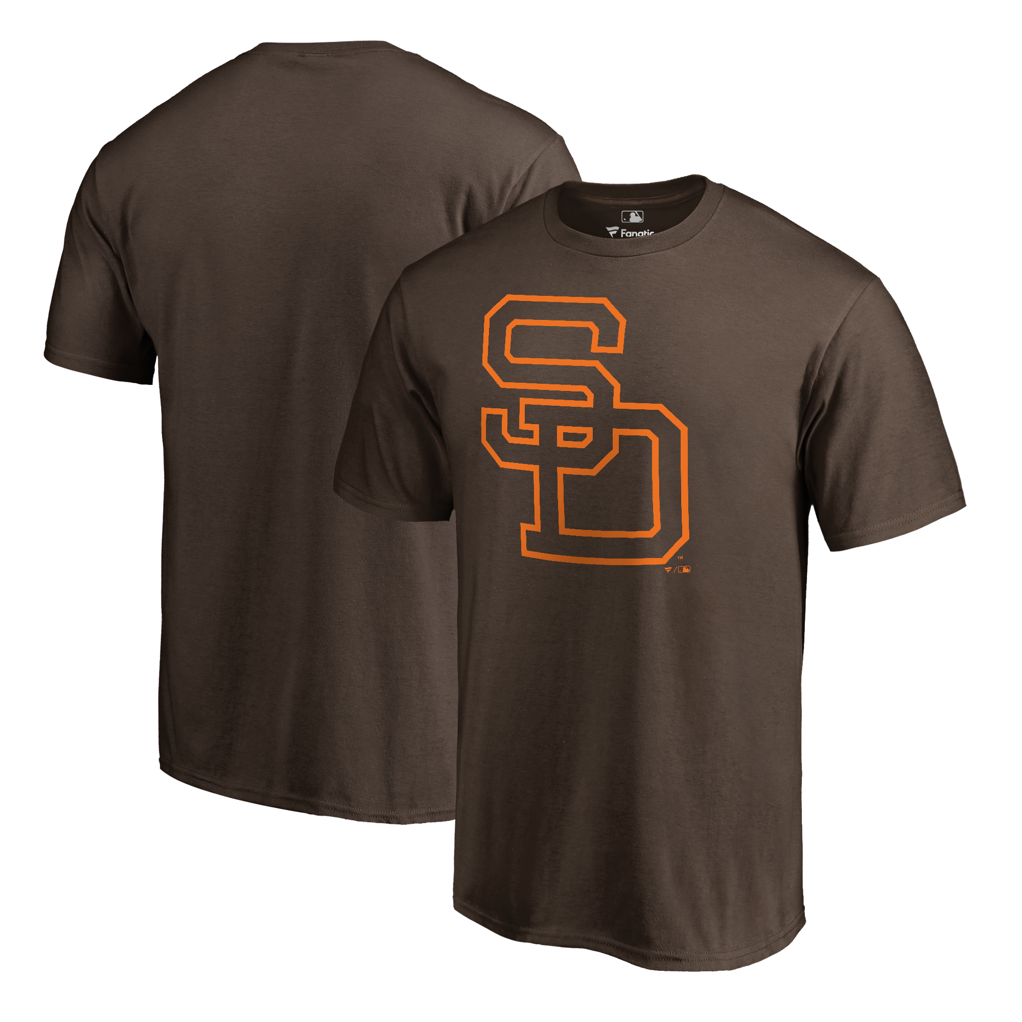 San Diego Padres Fanatics Branded Cooperstown Collection Huntington T-Shirt - Brown