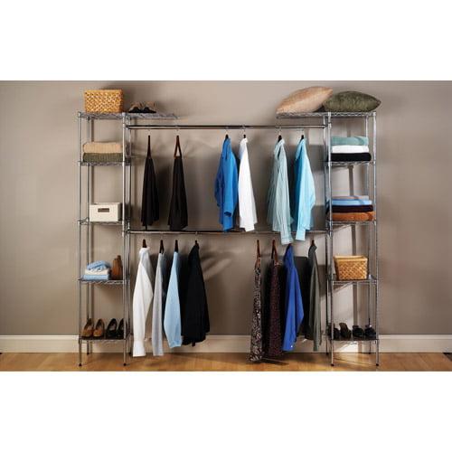 Seville Classics Expandable Closet Organizer, SHE05813BZ