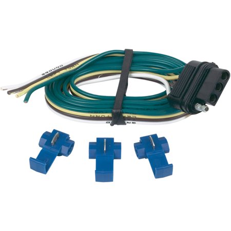 Hopkins 4-Wire Flat Car End with 3 Splices, 48