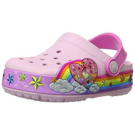 cd42cb2c800b94 Crocs - Crocs Girls Light Up Casual Clogs - Walmart.com