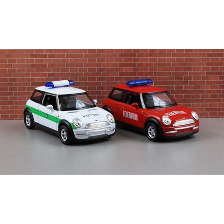 Framed Art For Your Wall Auto Mini Cooper Mini Model Car Toy Car Vehicle 10x13 Frame