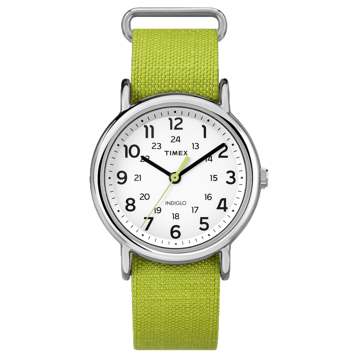 Timex Weekender Rip-Stop Water Resistant Analog Watch w  Slip-Thru Strap by Timex