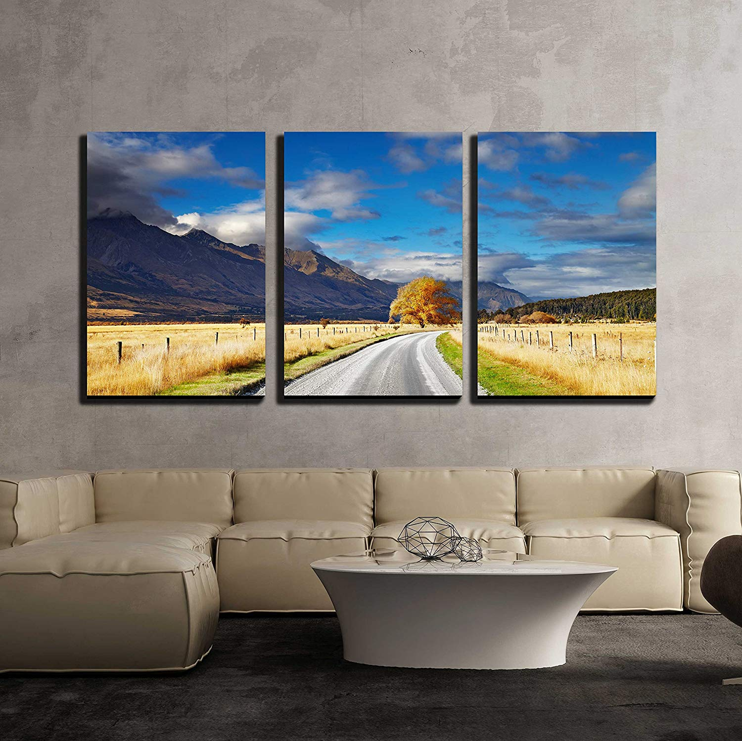 New Zealand Home Decor: Mountain Landscape With