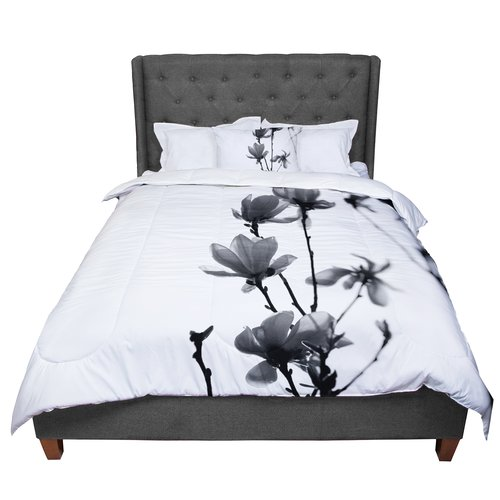 East Urban Home Monika Strigel Mulan Magnolia Comforter