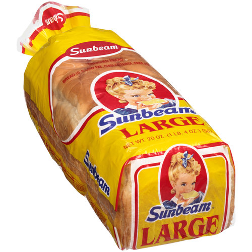 Sunbeam Large Bread, 20 oz