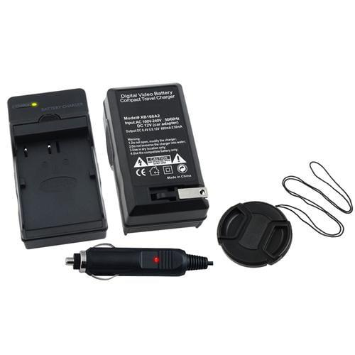 Insten For Nikon EN-EL3e Battery Charger+Cap D700 D300 D200 D80 D90 D70s D300s D50 D100