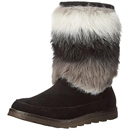 - Rocket Dog Womens Marcus Faux Suede Faux Fur Casual Boots