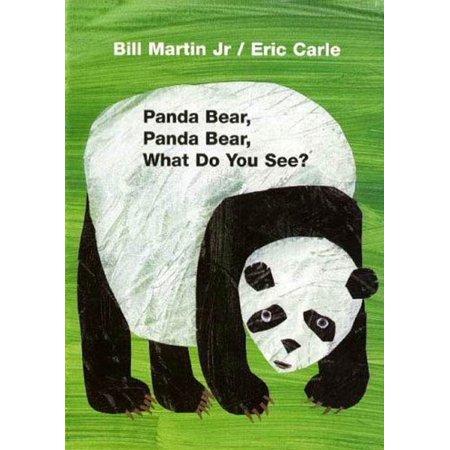 Panda Bear Panda Bear What Do You See (Board Book) ()