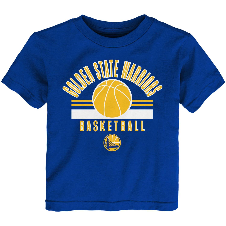 Newborn & Infant Royal Golden State Warriors Short Sleeve T-Shirt