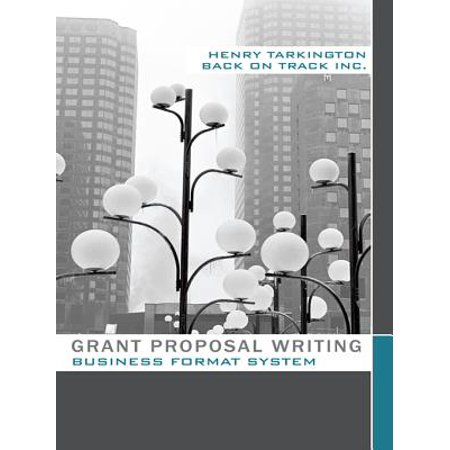 Grant Proposal Writing Business Format System -