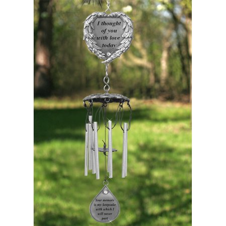 Memorial Windchimes - I Thought of You With Love