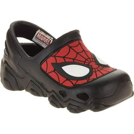 664d0880a6b4 Spider-Man - Toddler Boy s Clog Shoe - Walmart.com